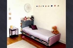Lit En Palette A Vendre : meubles en palettes le bois recyclable pour votre confort ~ Teatrodelosmanantiales.com Idées de Décoration