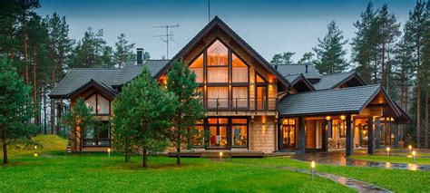 Wooden Houses : Wooden House, Log House, Timber House, Design, Construction