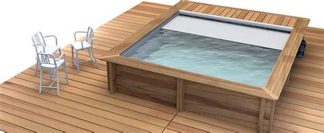 piscine hors sol bois carre piscine hors sol bois urbaine carr 201 moins de 10m2 piscine en ligne arobase piscines