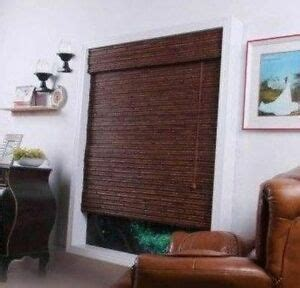 jcpenney woven wood roman shade blind assorted  ebay