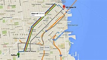 How to use the new Google Maps: Directions - YouTube