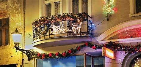 Balkon Weihnachtlich Dekorieren by Balkon Dekorieren Weihnachtsdeko Trends