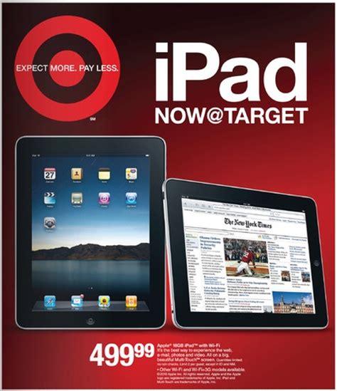 target  amazon  selling ipad macrumors