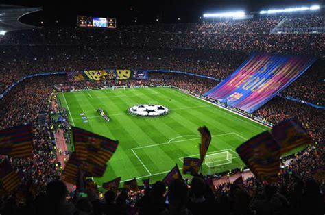 la liga stadiums grounds ranked  capacity  smallest