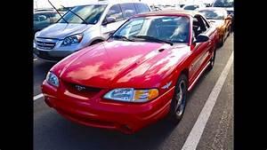 1994 Ford Mustang Svt Cobra Convertible 5 0l V8 Start Up