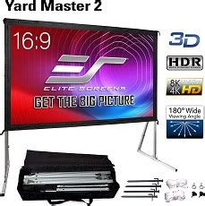 Top 7 120 Inch Projector Screens Motorized & Pull Down