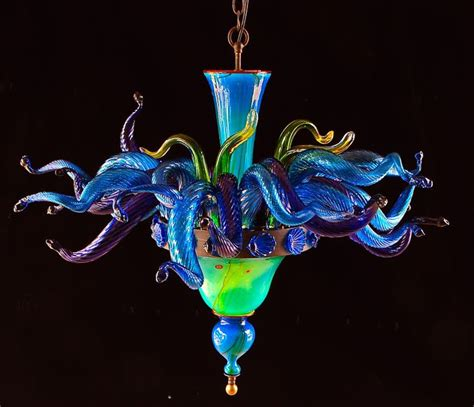 Hawaiian Chandelier by 7 Best Glass Images On Blown Glass Chandelier