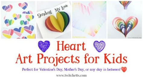 heart art projects   inspiring valentines day