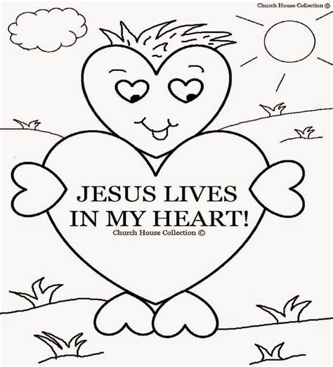 Sunday School Bible Coloring Pages Printable