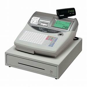 Instruction Manual Casio Te 2000 Electronic Cash Register
