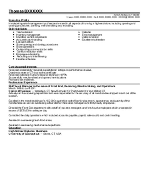 Walgreens Manager Resume by Assistant Store Manager Resume Exle Walgreens