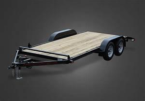 Wood Floor Car Trailers By Trailer Sales Of Michigan