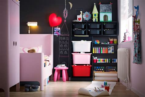 rangement chambres enfants idée rangement chambre enfant avec meubles ikea