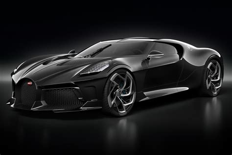 Bugatti will give its la voiture noire, the world's most expensive new car, its us debut at pebble beach concours d'elegance which begins tuesday the la voiture noire was made in celebration of bugatti's 100th anniversary and pays homage to the company's history. Bugatti 'La Voiture Noire' revealed - one-off Chiron ...