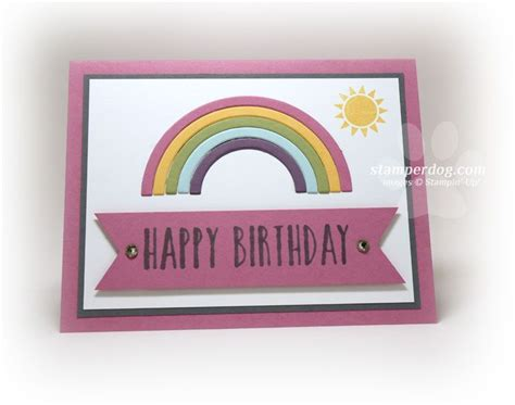 quick  easy birthday card tips  images simple