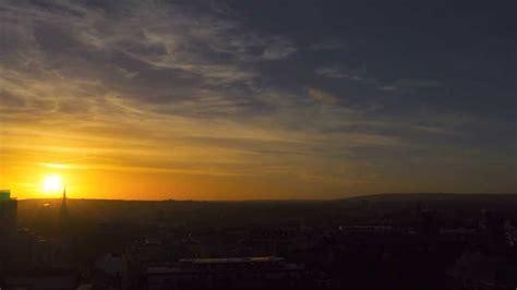 sunrise sunset timelapse bristol city centre youtube
