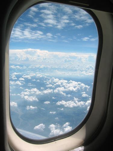 sensational airplane window pictures