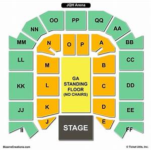 Jqh Arena Seating Chart