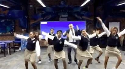 Teach Students Spring Break Take Teacher Dancing