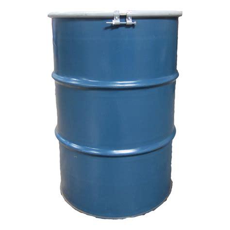 ot cuisine metal 55 gallons ot w bolt lid used food grade san