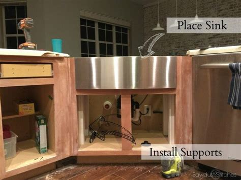 moen apron front sink apron sink install and kitchen remodel reveal sawdust 2