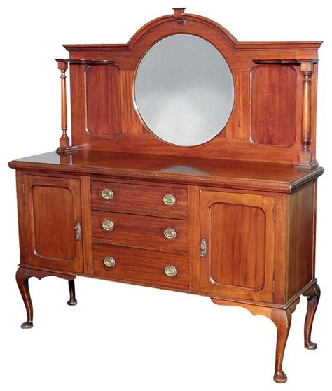 Antique Mahogany Sideboard Buffet by Antiques Antique Mahogany Buffet Sideboard
