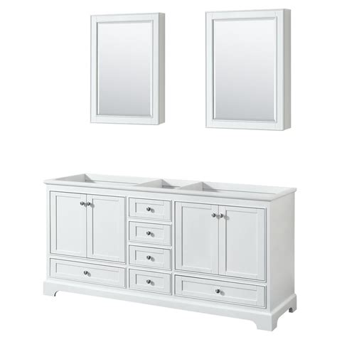 wyndham collection medicine cabinet wyndham collection deborah 71 in w x 21 5 in d vanity