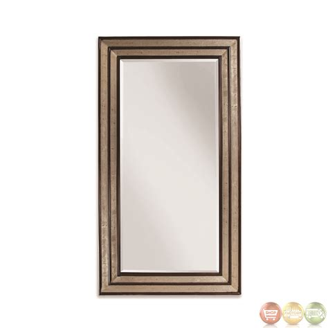 floor mirror leaner cyrus traditional extra large leaner floor mirror m2824bec