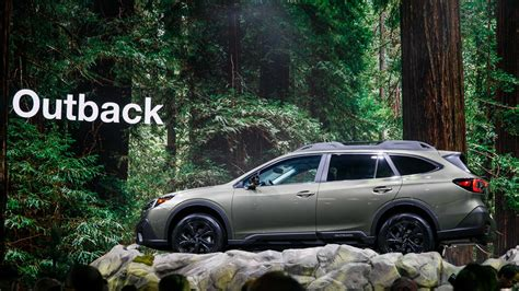Subaru Outback 2020 New York by 2020 Subaru Outback Debuts With More Power Familiar Look