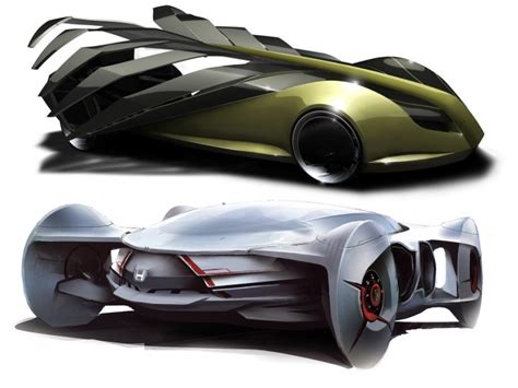 Car Design Concepts : 25 Futuristic Concept Cars That Will Never Hit The Road