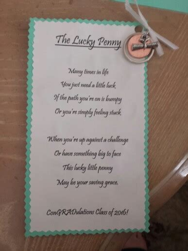 lucky poems