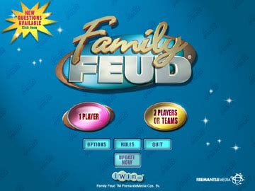 It's time to play the new family feud® live! Family Feud Game Download   UCLICKGames