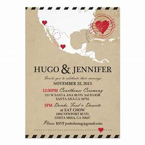 hj wedding invite wedding invitations pinterest With wedding invitation wording long distance