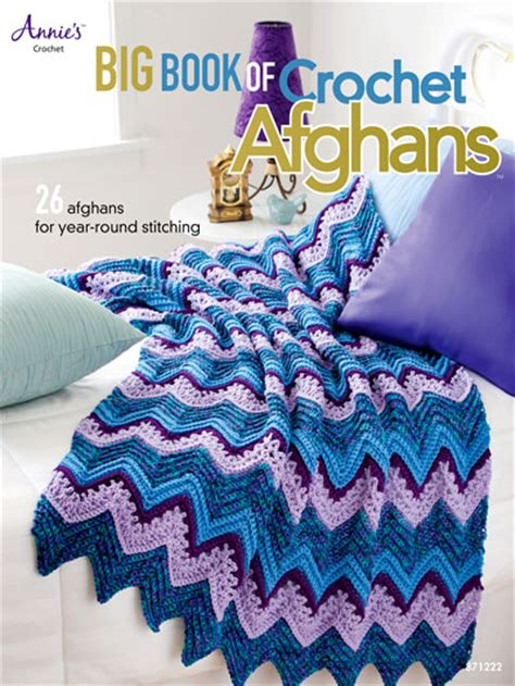 big book  crochet afghans book aa