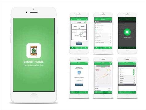smart home app designs  control  house