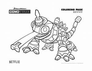 Dibujos Para Colorear De Dinotrux