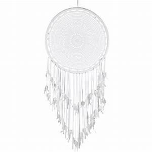 Attrape Reve Maison Du Monde : attrape r ves en crochet blanc alawa maisons du monde ~ Dailycaller-alerts.com Idées de Décoration
