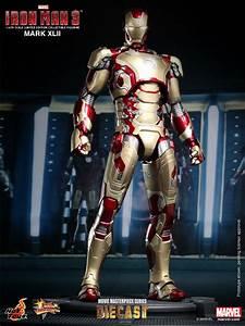 Iron Man 3 Hot Toys Iron Man Mark 42 Diecast Figure - The ...