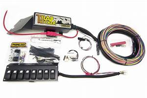 Painless Wiring 57023 Trail Rocker System Kit Fits 76