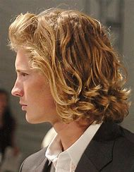 Men Curly Hairstyles for Long Hair