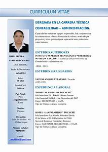 Cv Maria Dianira Carhuajulca Rubio