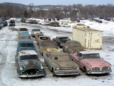 americas  salvage yards historic vehicle