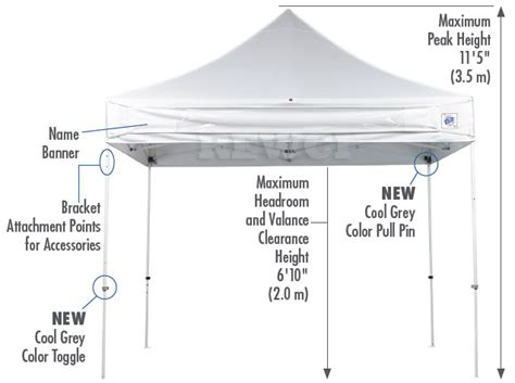 ess instant canopy set