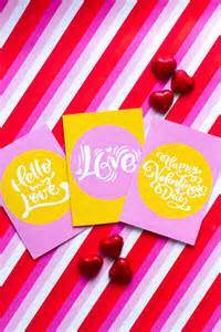 FREE PRINTABLE SLOGAN MODERN VALENTINES DAY CARDS ...