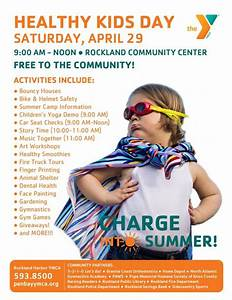 """The YMCA wants kids to """"Charge into Summer"""" during our ..."""