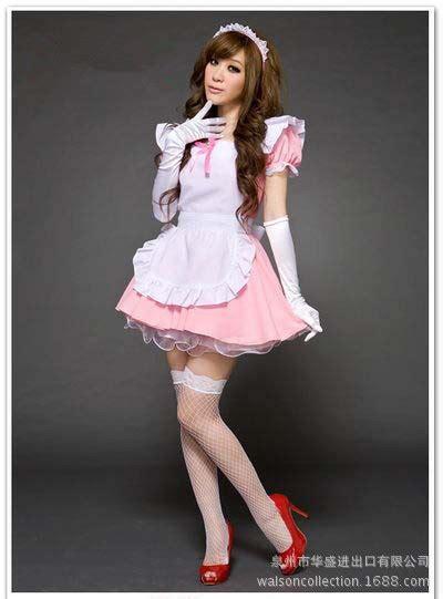 Sexy Japanese Teen Maid Costumes Can Ailuolita Maid Mini Dress Custom Clothing Cos Animation