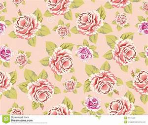 Wallpaper Pattern Pink Rose | Wallpapers Background