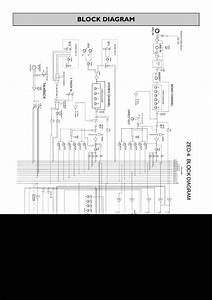 Block Diagram  Allen  U0026 Heath 14 Zed