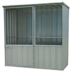 Qiq Fix Sheds by Qiq Fix Flat Roof Fowl House 1 5m Bunnings Warehouse