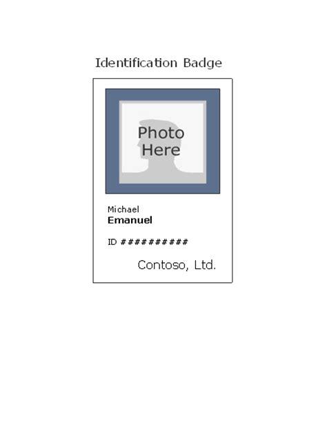 employee photo id badge portrait